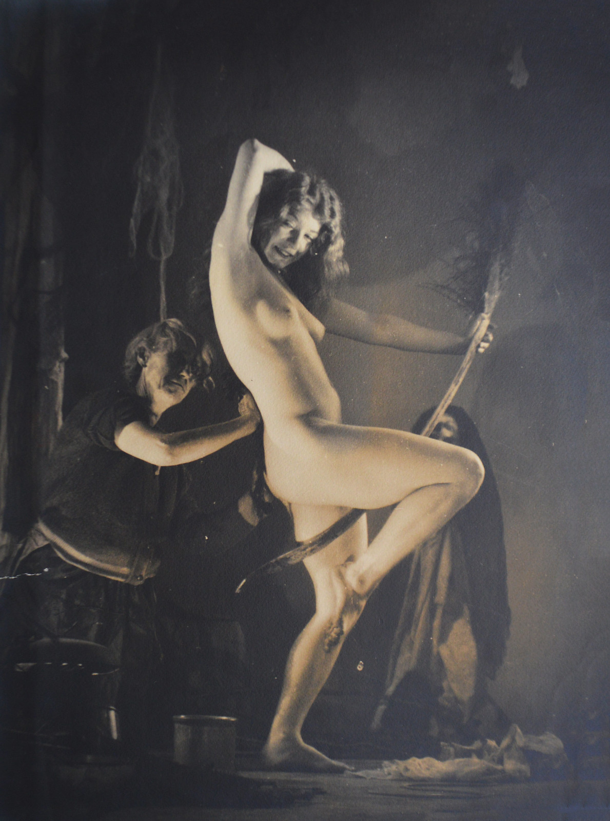 William Mortensen - Preperation For The Sabbot, 1930