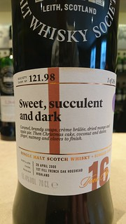 SMWS 121.98 - Sweet, succulent and dark