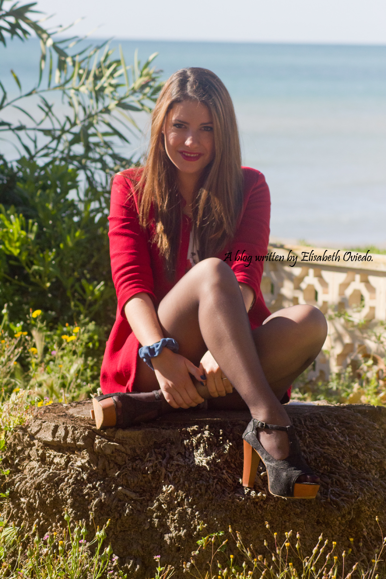 heelsandroses elisabeth oviedo blazer roja zara temporada primera verano (1)