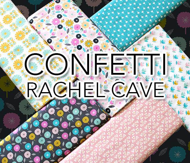 Dashwood Studio Confetti Collection by Rachel Cave