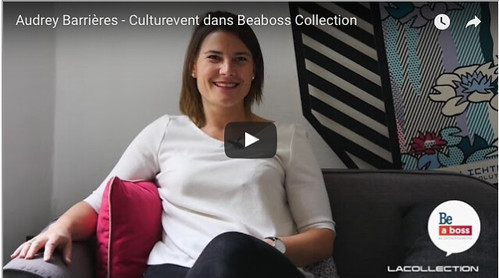 Audrey Barrières et Culturevent Interview Be a Boss