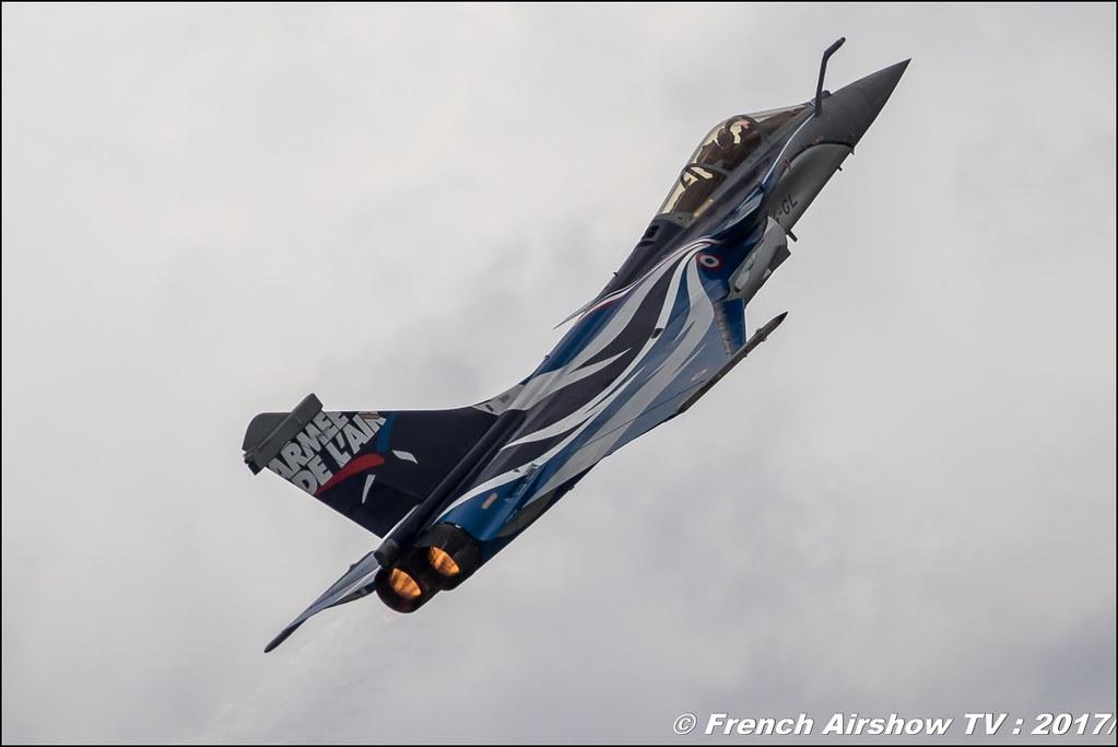 Rafale Solo Display 2017 , Armée de l'air , marty , rafale dassault team , Meeting de l'Air BA-106 Bordeaux Merignac , meeting aerien 2017 , Airshow