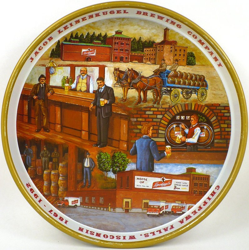Leinenkugels-125th-Anniversary-Serving-Trays-10-16-inches-Jacob-Leinenkugel-Tray-1