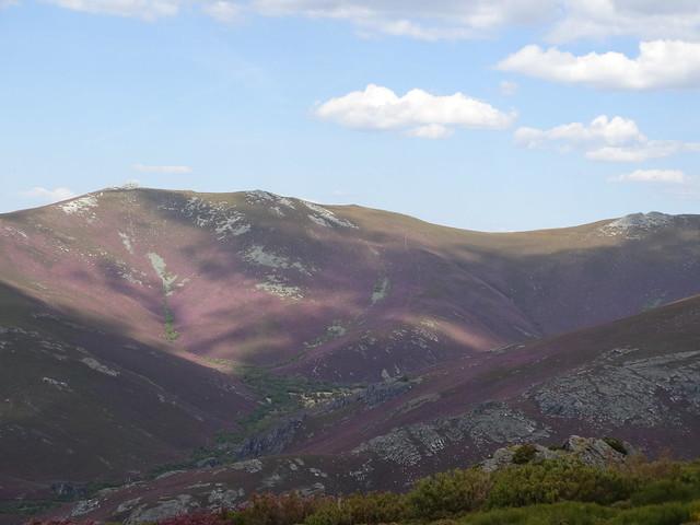 Valle de Meladas en Trevinca en A Veiga