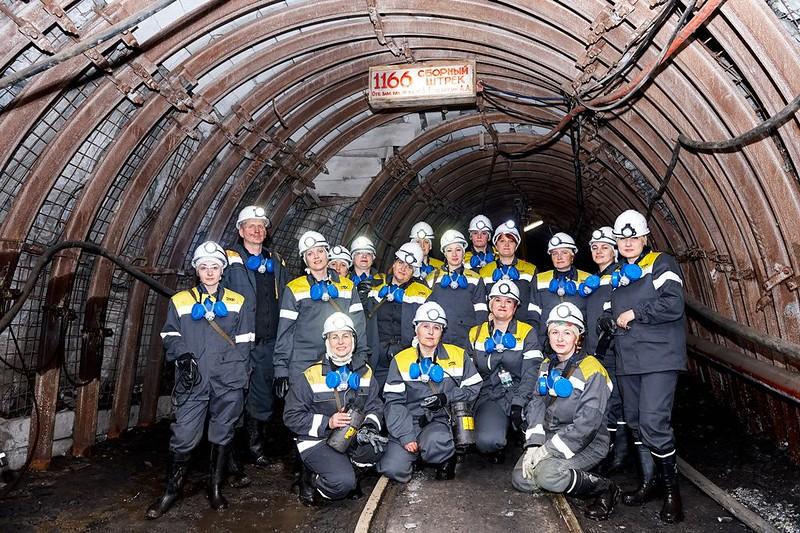 Общее фото в шахте