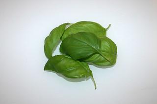 07 - Zutat Basilikum / Ingredient basil