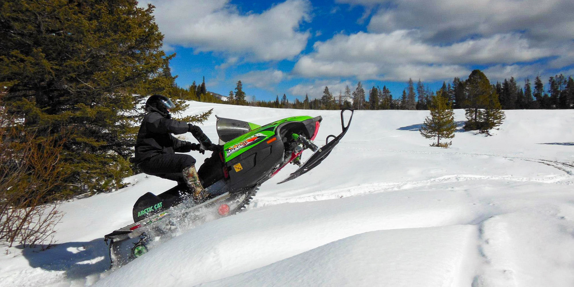 Find all snowmobile access points in the Little Belt Mountains.