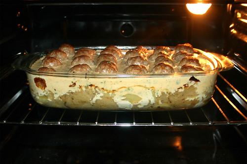 35 - Im Ofen stocken lassen / Curle in oven