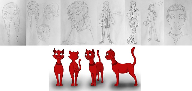 Character Designs - Developments