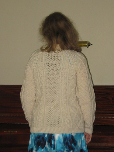 Aran Sweater - Back