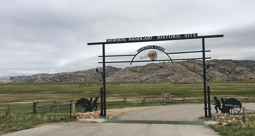 Martins Cove Handcart Historic Site, Wyoming. From The Art of Road Tripping, Part 2: Remaining Open