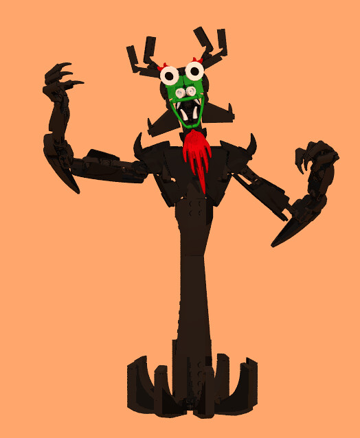 Aku - The Shape-Shifting Master of Darkness