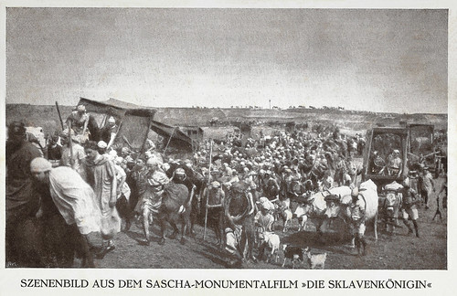 Scene from Die Sklavenkönigin (1924)