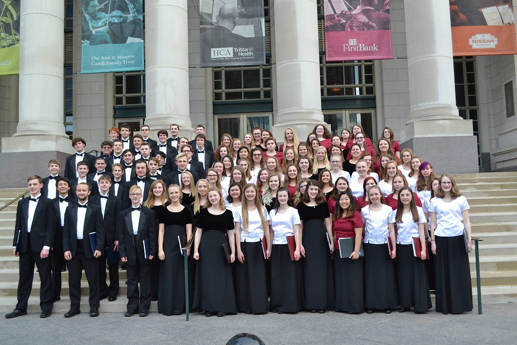 PHS Choir in Nashville