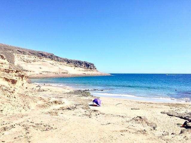 la playa De Diego Hernández en Tenerife