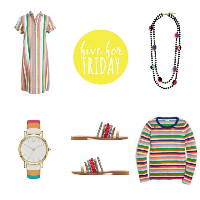 Five for Friday, Vol. 182 - Get Your Color On | Style On Target blog