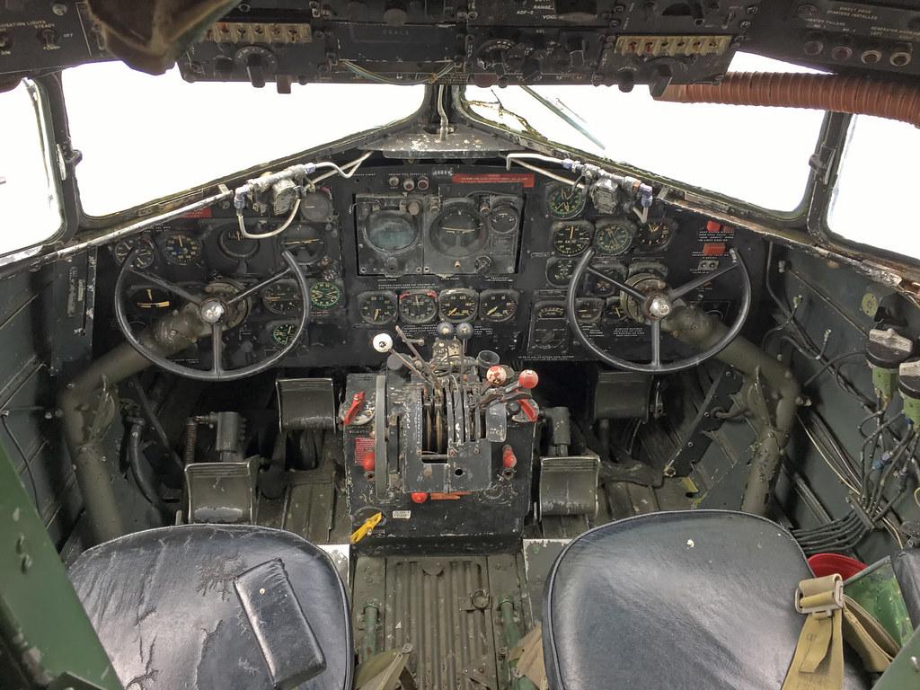 West Side Auto >> WW II • C-47 Skytrain cockpit   Douglas C-47 Skytrain flight…   Flickr