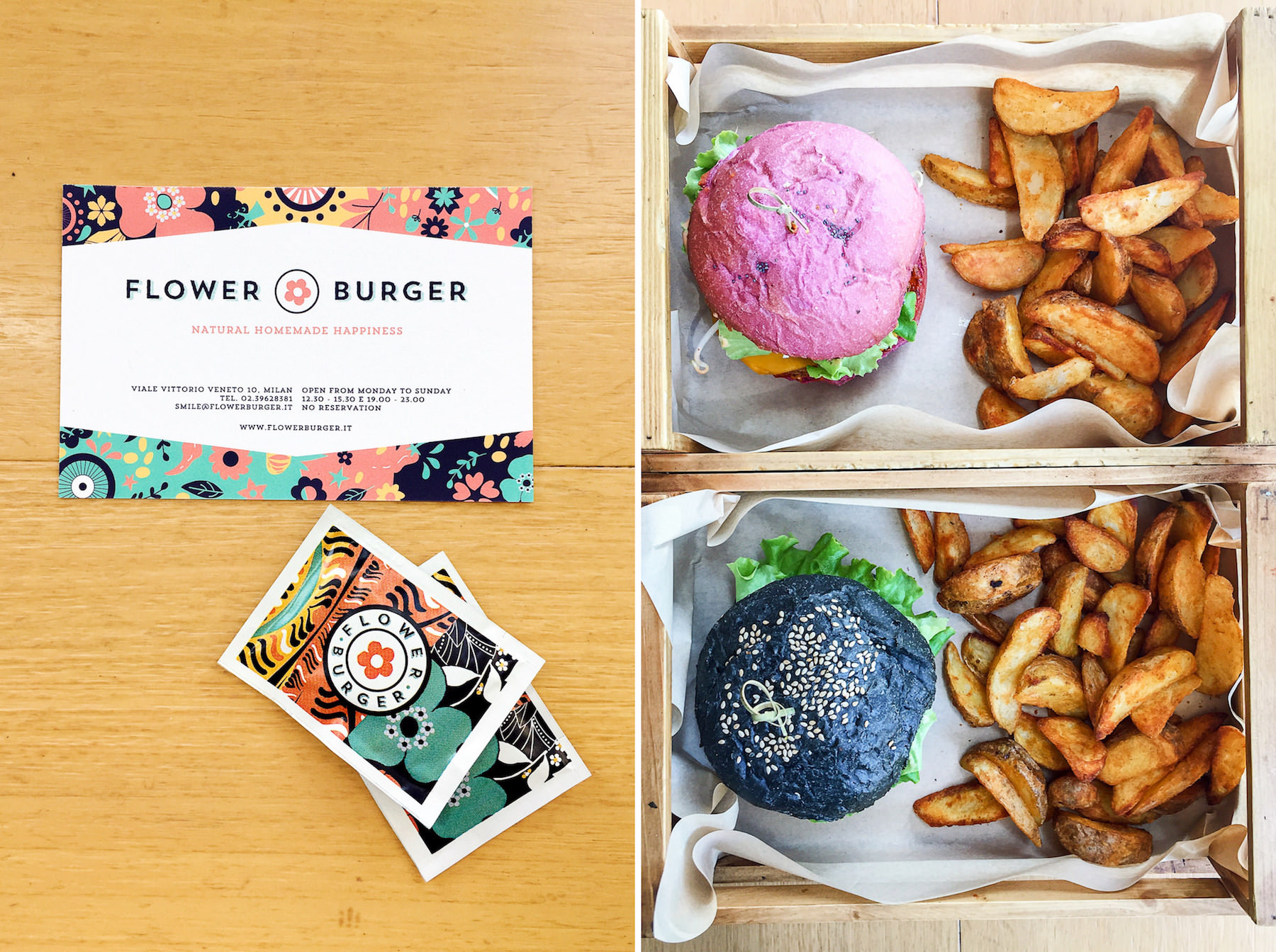 Turin: Flower Burger