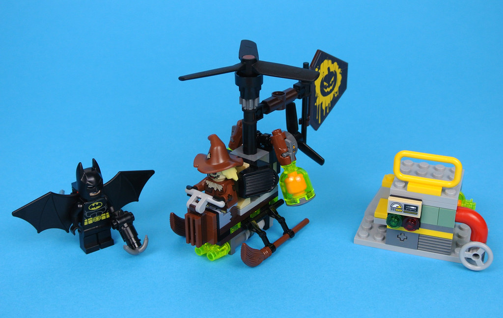 LEGO The LEGO Batman Movie 70913 Scarecrow Fearful Face-off review