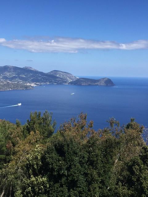 Liparische Inseln - ausblick von der Insel Vulkano