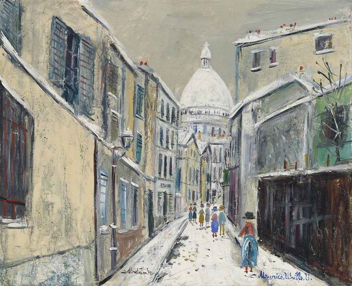 Sagrado Corazon - Utrillo 1