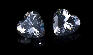 Two Heart Shaped Diamonds | by publicdomainphotography