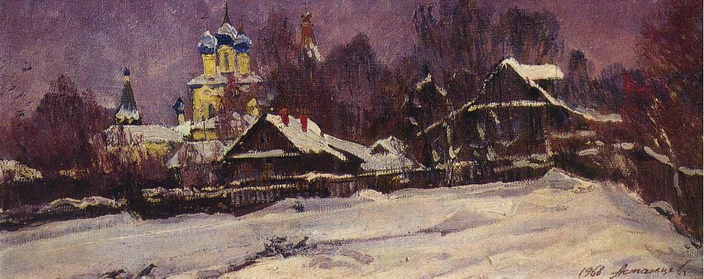 维克多·阿斯塔利采夫画作选19