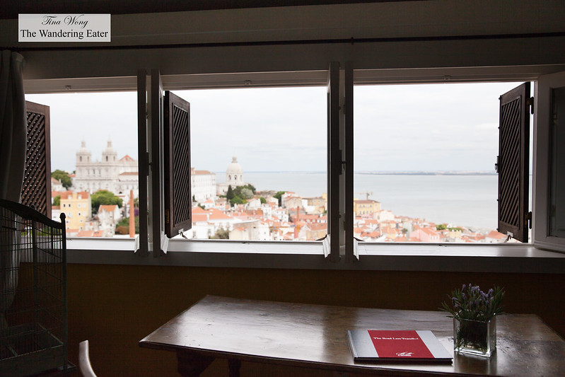 View of southeast Lisbon from the Padre Himalaya Suite