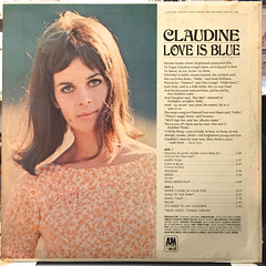CLAUDINE:LOVE IS BLUE(JACKET B)