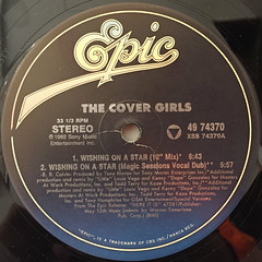 THE COVER GIRLS:WISHING ON A STAR(LABEL SIDE-A)