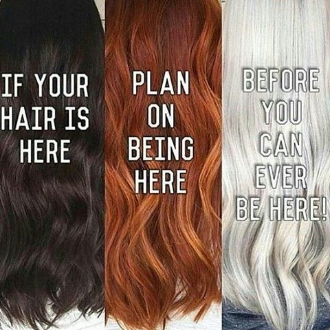 Transformation Of Your Hair From Dark To Light Is A Proces Flickr