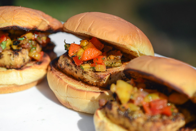 Jerk Tofu Sliders