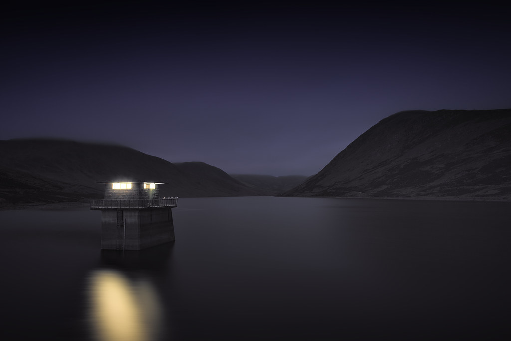 Loch Turret by Night