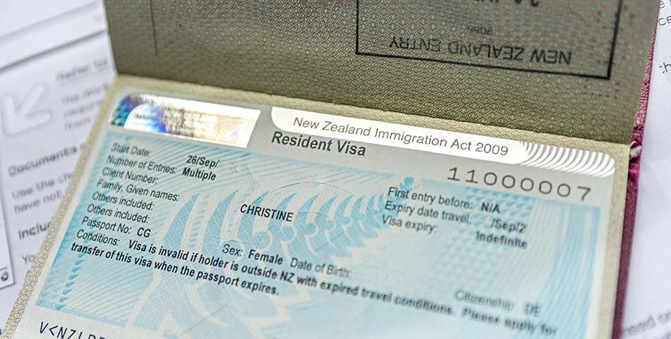 Residence Visa Neuseeland