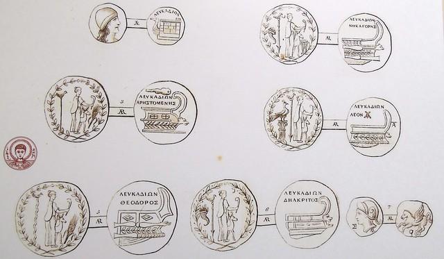 arxaia nomismata Petrizzopoulos 1815