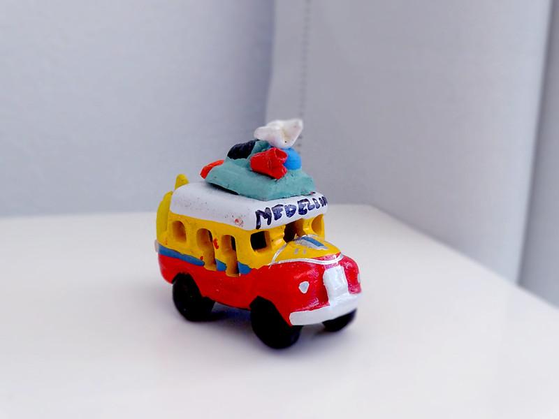 souvenir de ônibus de medellín