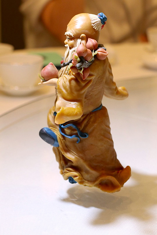 A dough figurine with exquisite detail
