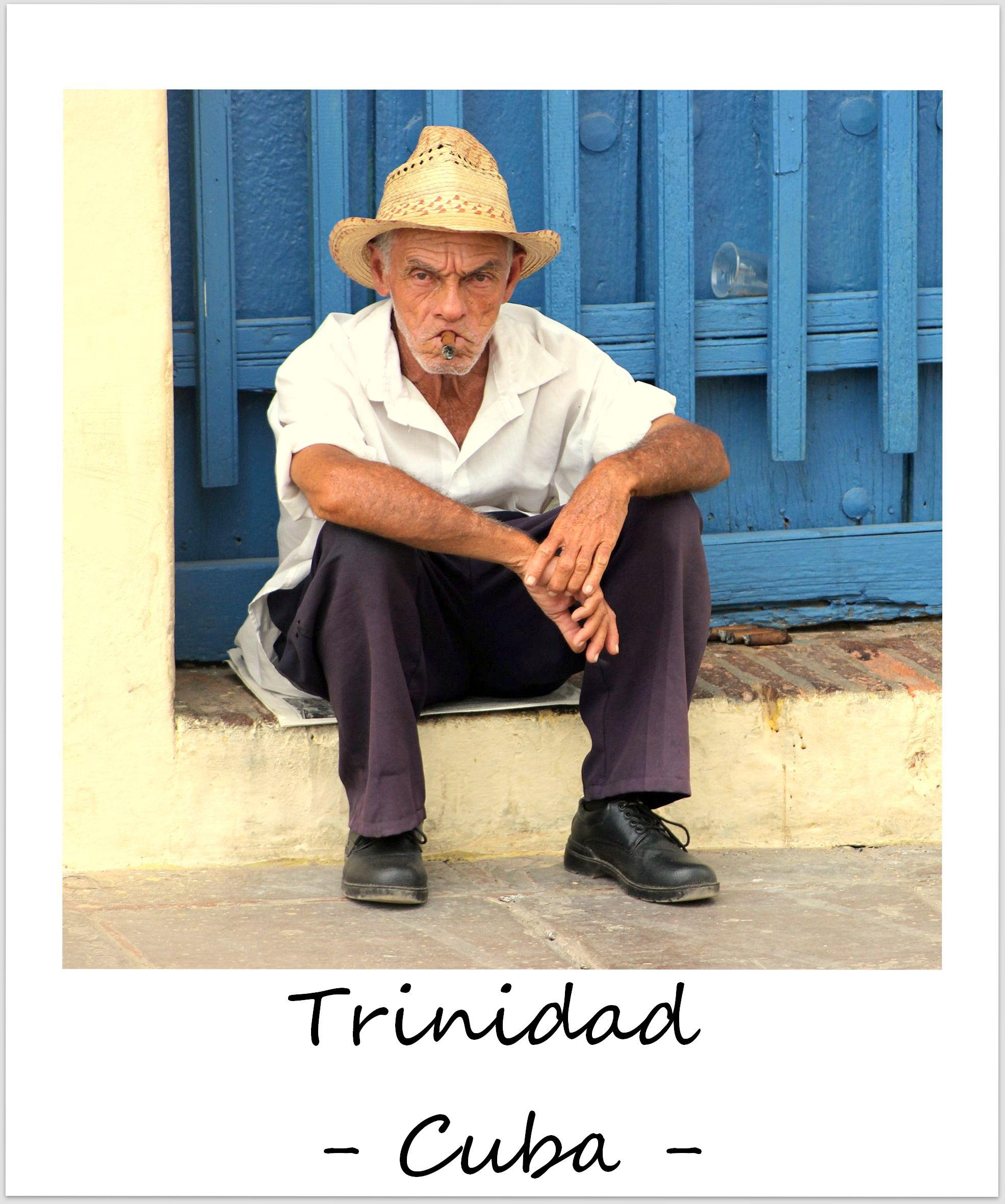 polaroid of the week cuba trinidad