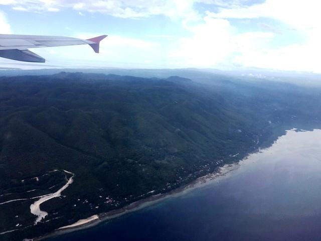 Bohol aerial view