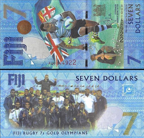 7 novozélandských dolárov Nový Zéland 2017, pamätná