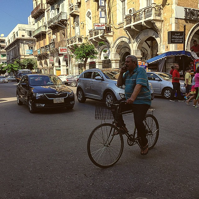 Egyptian Cycling Culture