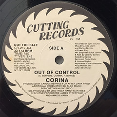 CORINA:OUT OF CONTROL(LABEL SIDE-A)