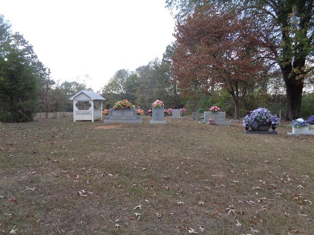 Ballinger Cemetery, Morgan County AL