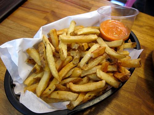 Fries with Kimchi Mayo