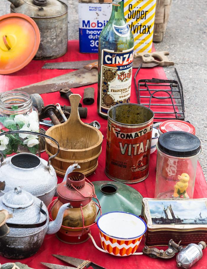 rompetori Rajamäki vanhoja esineitä mobil vanha kahvipannu