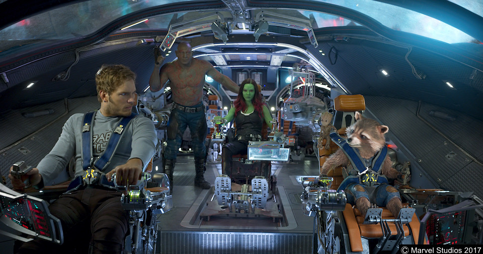 'Guardians of the Galaxy Vol. 2' easily slays box office rivals