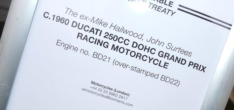 Ducat 250 DOHC 1960 ex Hailwood & Surtess 33712218464_c0f145026b_c