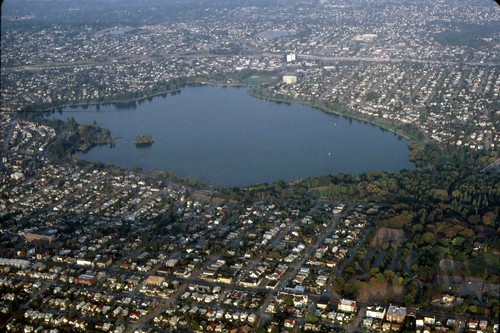 Aerial of Green Lake, 1987 | by Seattle Municipal Archives
