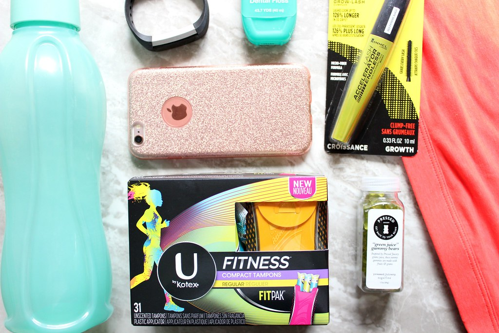 Real Simple Gym Bag Essentials #FindYourFITNESS