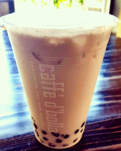 Here's a yummy bubble milk tea for you!
